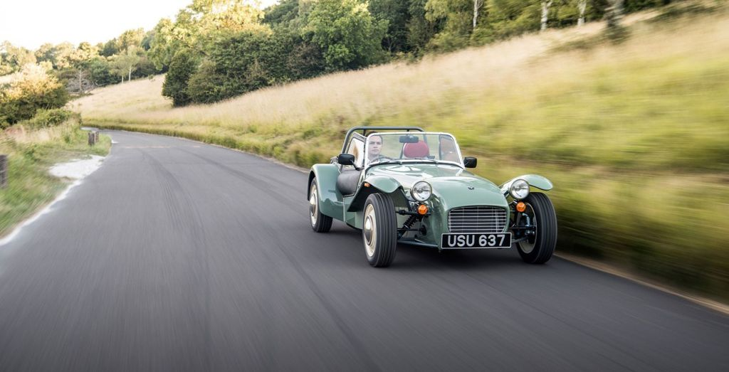 Caterham Seven Sprint Is A Purists Delight Wheels