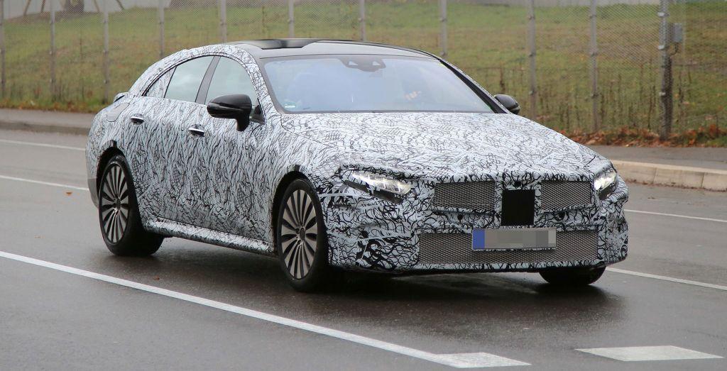 2018 Mercedes Cls Spied Wheels