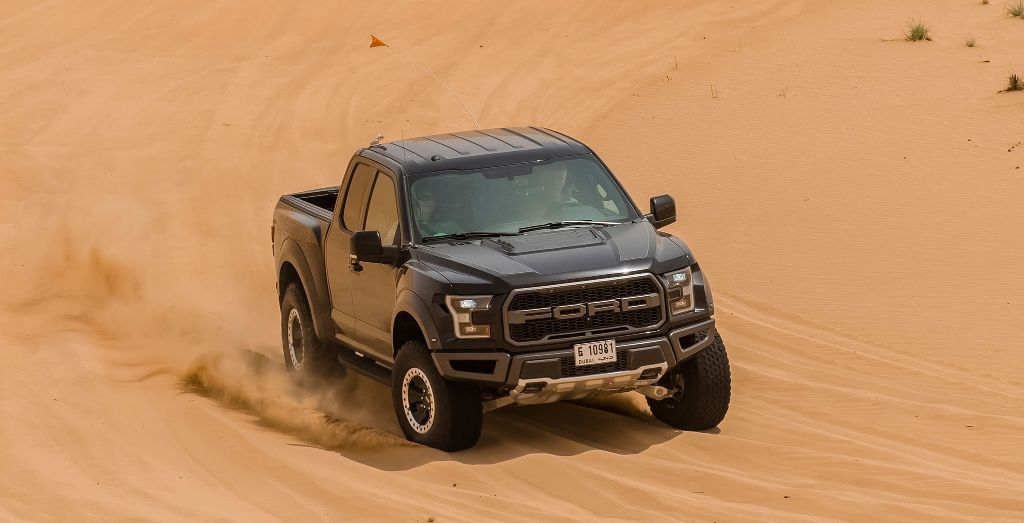 All new f 150 raptor hot weather testing in dubai wheels supplied voltagebd Gallery