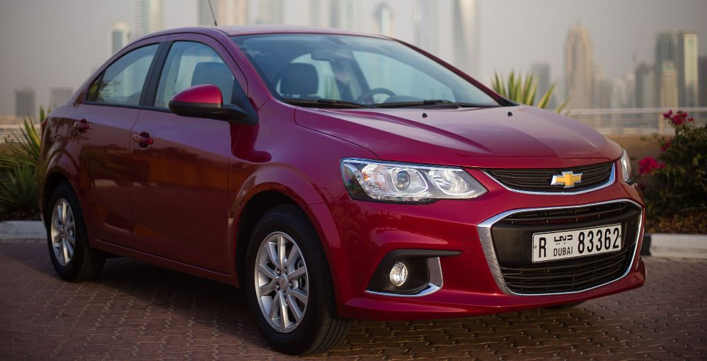 Chevrolet Aveo 2016 >> Chevrolet introduces 2017 Aveo in the Middle East - Wheels