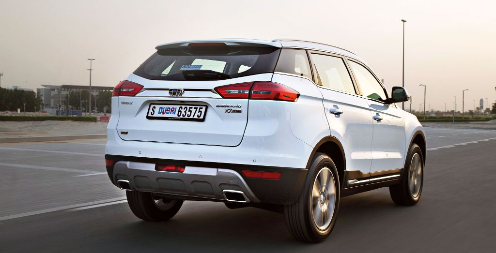 2016 Geely Emgrand X7 Sport Review Wheels