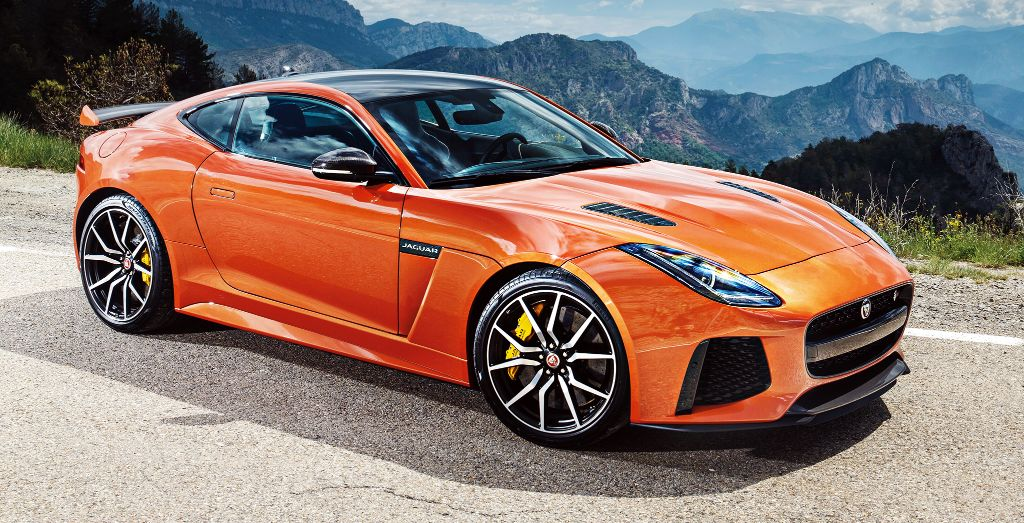 jaguar f-type svr driven - wheels