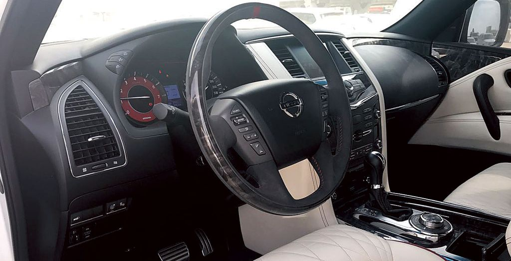 2016 Nissan Patrol Nismo Wheels