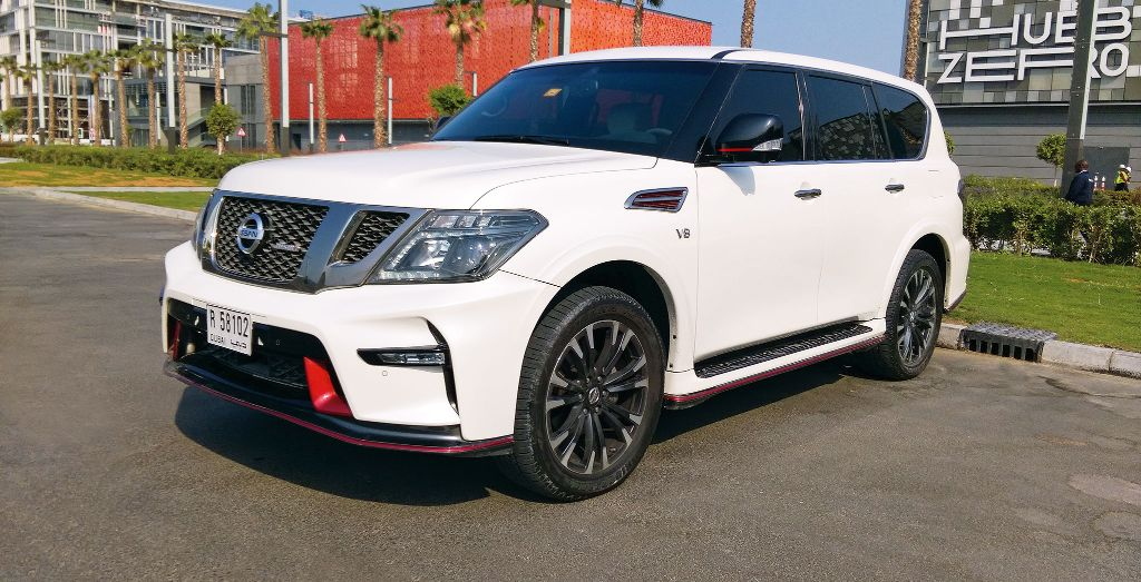 Week 5 Nissan Patrol Nismo on 2016 nissan gtr