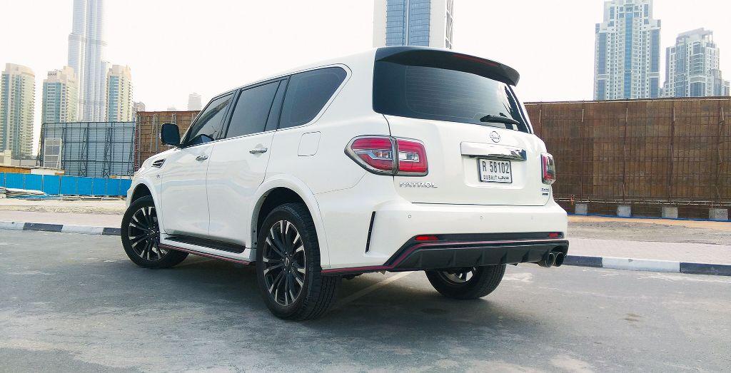 Week 6: Nissan Patrol Nismo - Wheels
