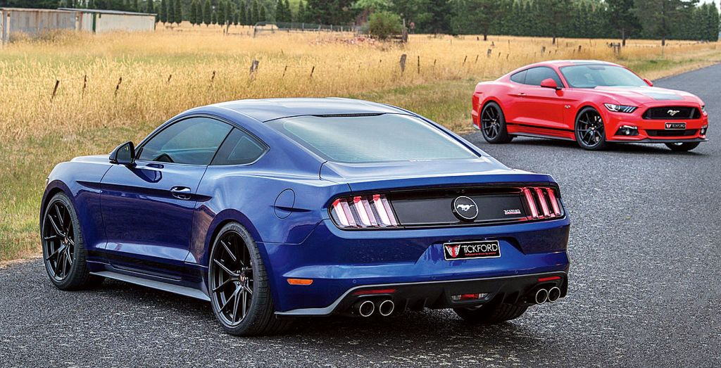 Tickford Mustang Wheels