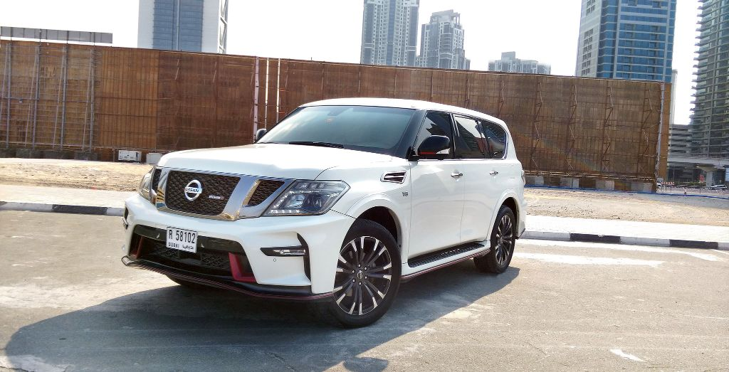 Week 7: Nissan Patrol Nismo - Wheels