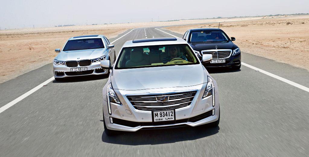 Cadillac Ct6 Vs Bmw 7 Series Vs Mercedes Benz S Class Wheels