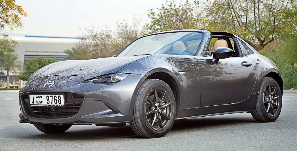 Julie Addison's 2017 Mazda MX-5 RF - Wheels