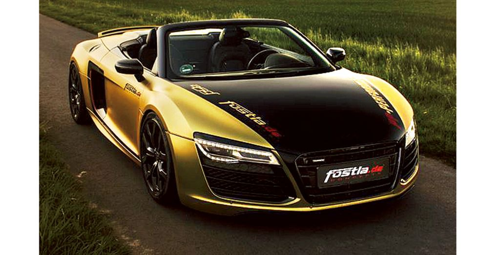 Fostla Audi R8 Wheels