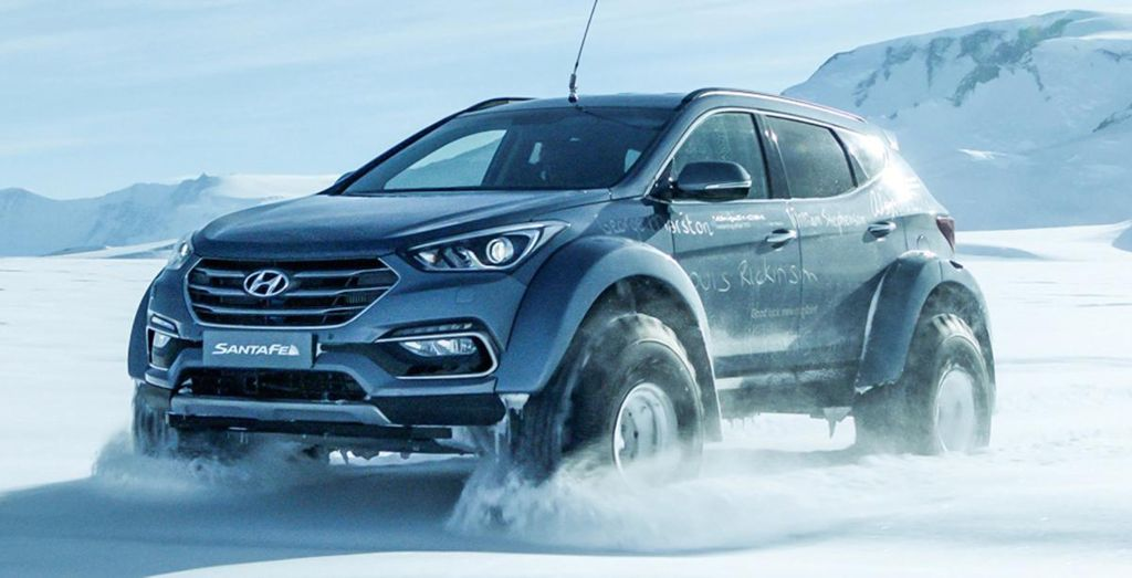 hyundai creates history with antarctic expedition wheels. Black Bedroom Furniture Sets. Home Design Ideas