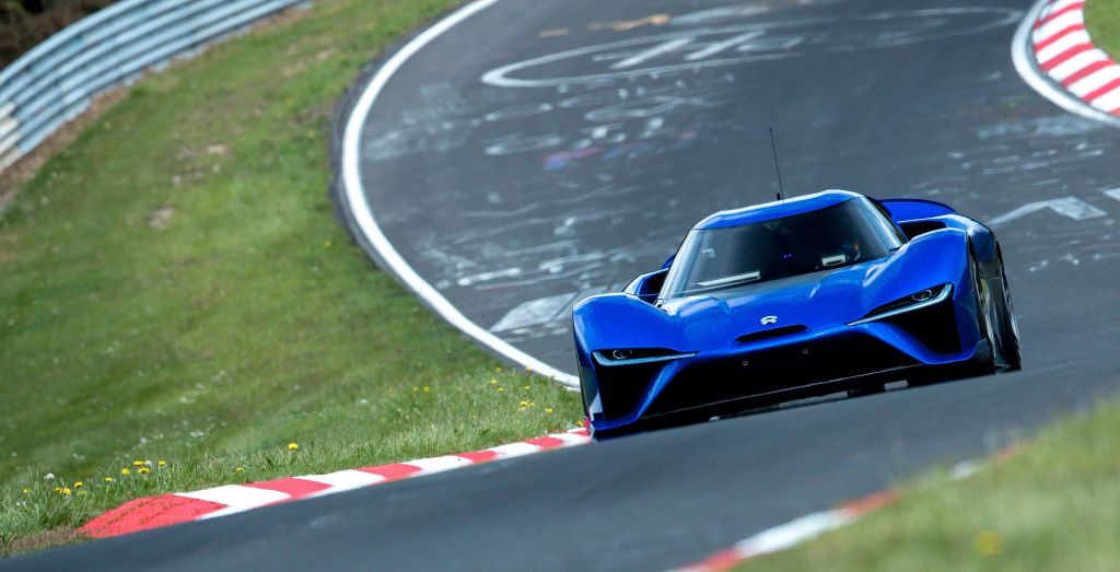Chinese Nio Ep9 Electric Supercar Thrashes Lamborghini Huracan