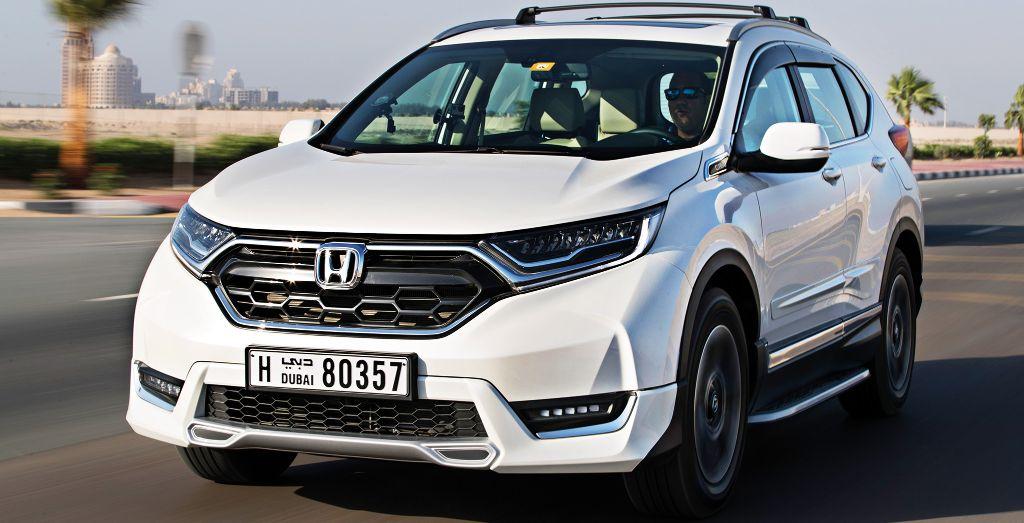 Honda Cr V New Cuv In Uae Wheels
