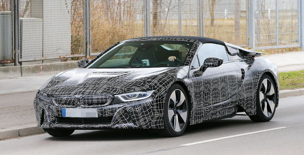 2019 Bmw I8 Spyder Spied Wheels