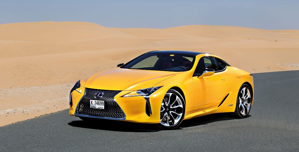 Lexus LC500h/Photos: Grace Paras