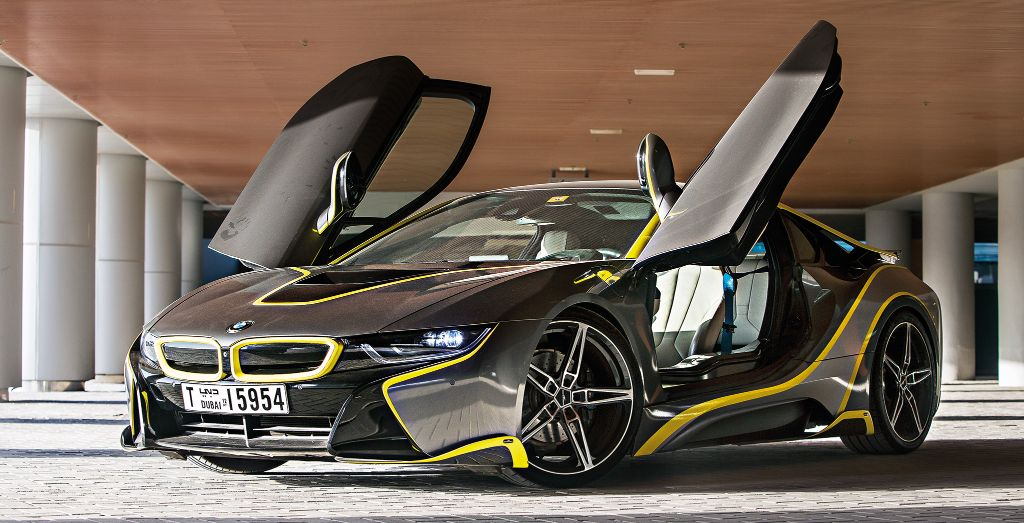The two-door coupé features a transverse mid-engine layout and all-wheel & Alex Hirschi\u0027s 2016 BMW i8 - Wheels