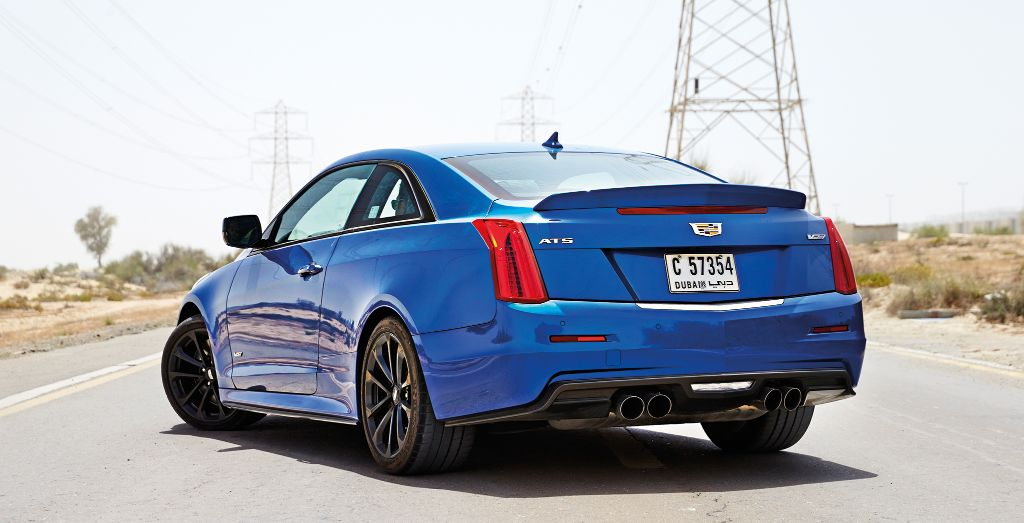2017 Cadillac Ats V Coupe Review Bolt From The Blue Wheels