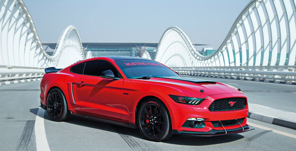 This Is No Ordinary  Ford Mustang Its Been Modified A Fair Bit And Sure
