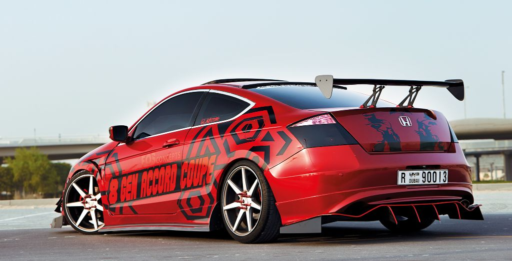 Aarif Sure Has Transformed His Accord U2014 Check Out That Massive Diffuser And  Wing!