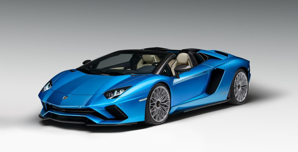 new aventador s roadster ditches roof, but retains power! - wheels