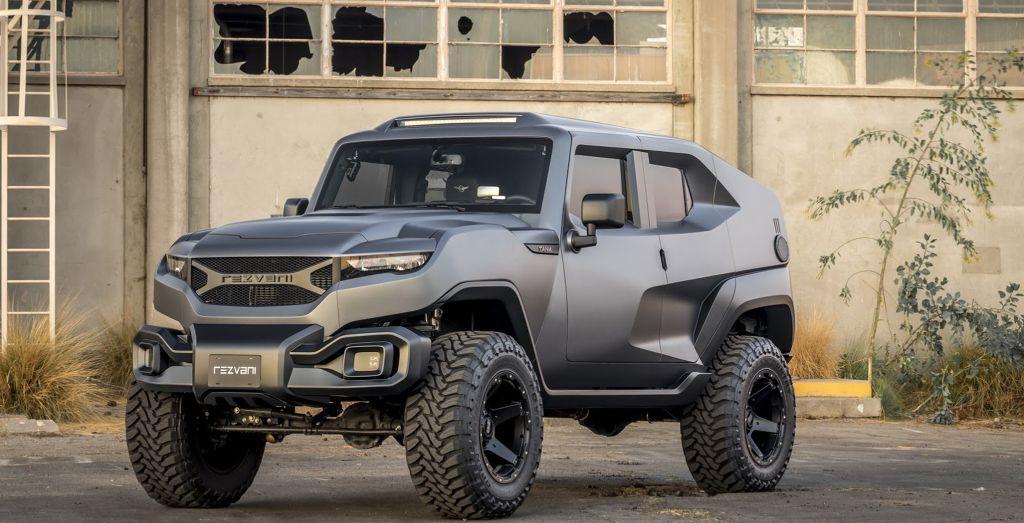 2017 SEMA Show: Rezvani's zombie apocalypse SUV for the ...