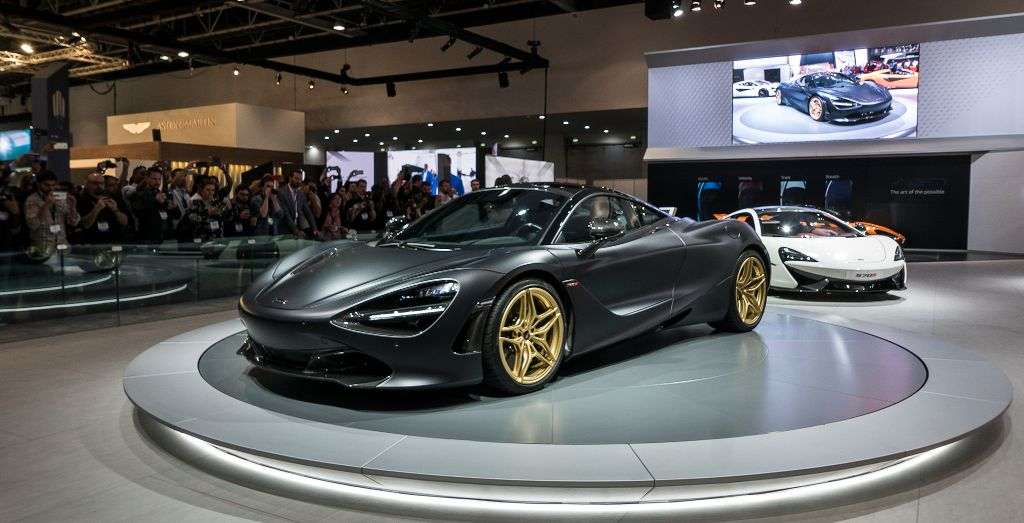 McLaren At The Dubai International Motor Show Wheels - Car show dubai
