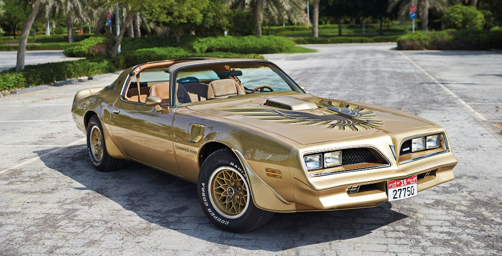 elie kallab s 1978 pontiac firebird trans am y88 gold. Black Bedroom Furniture Sets. Home Design Ideas