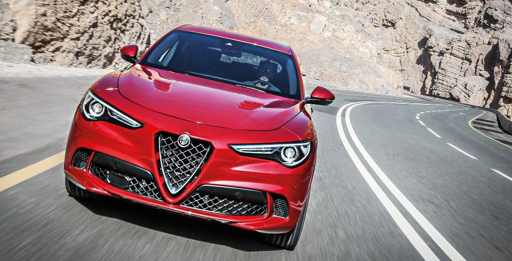 Alfa Romeo Stelvio Quadrifoglio Ain T No Mountain High Enough Wheels