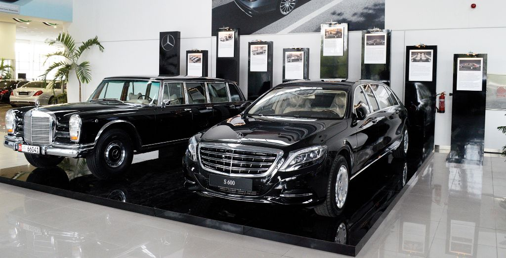 Emc Introduces Mercedes Maybach Pullman To The Uae More Luxury And