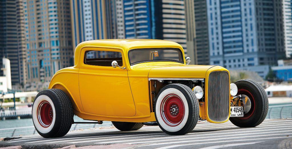 Samir Kilachand\'s 1932 Ford Hot Rod - Wheels