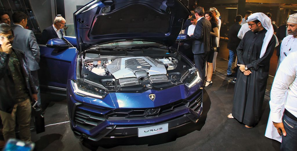 Urus Lands In Dubai Wheels
