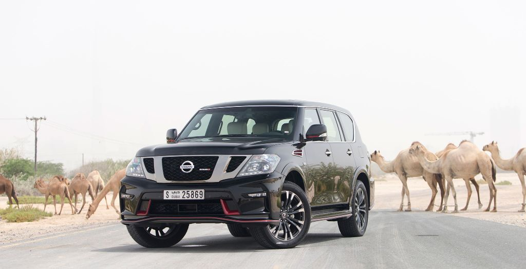 2016 Nissan Patrol Nismo - Wheels