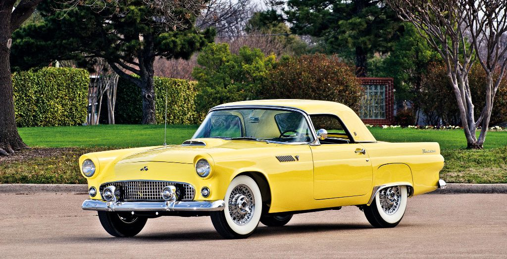 1955 Ford Thunderbird Wheels