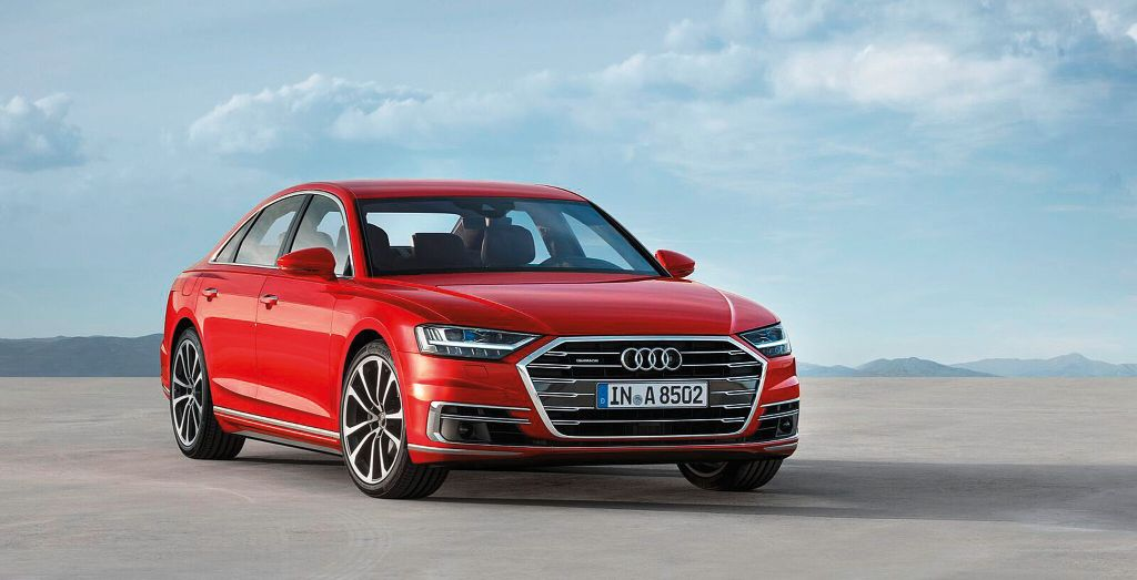 Allnew Audi AL Lands In The UAE Wheels - Audi a8l