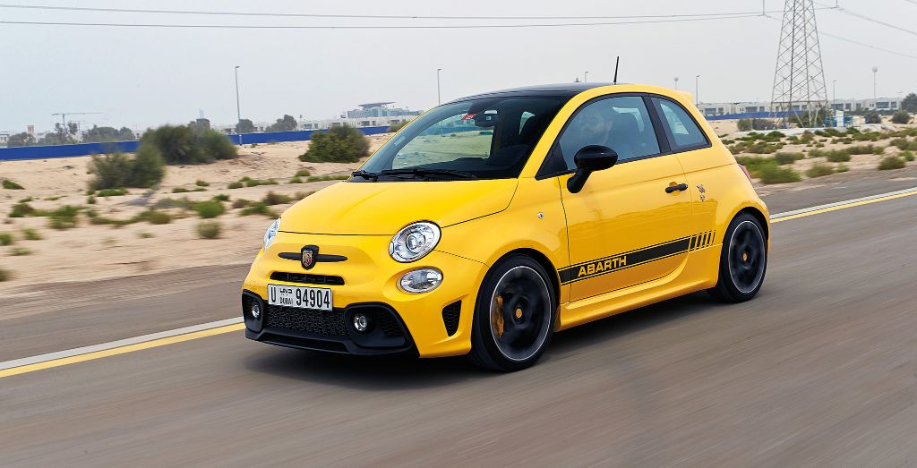 2018 fiat 500 abarth 595 competizione review fast n feisty wheels. Black Bedroom Furniture Sets. Home Design Ideas