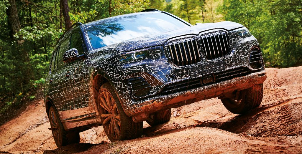 BMW X7 XDrive50i Pre Production Prototype Charting Un X Plored