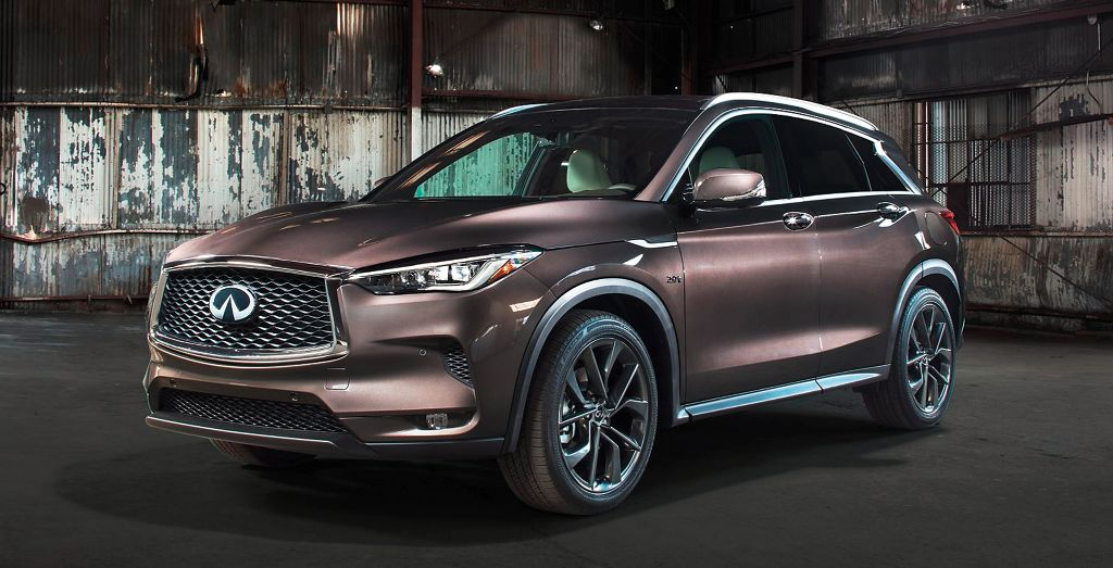 All New Infiniti Qx50 Infinitely Better Wheels