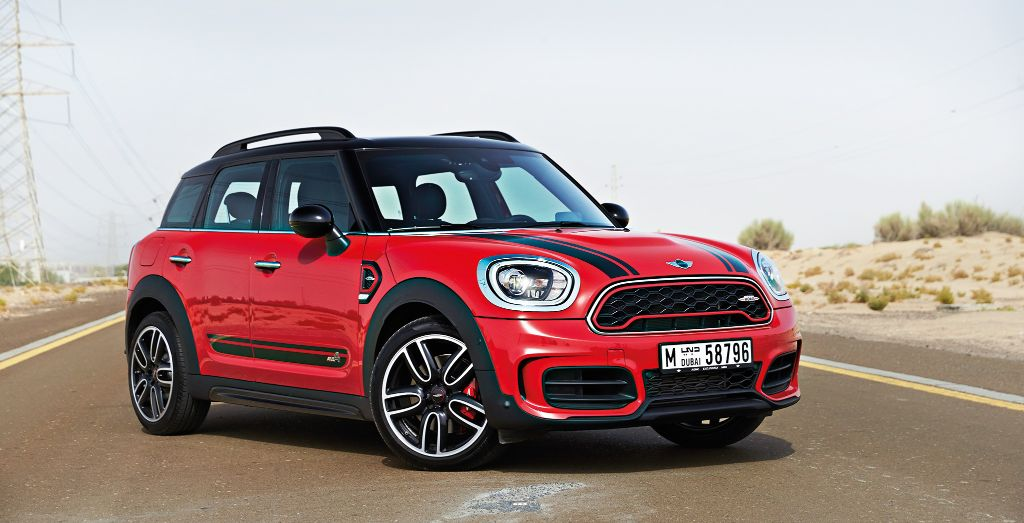 2018 Mini John Cooper Works Countryman All4 Review You Little
