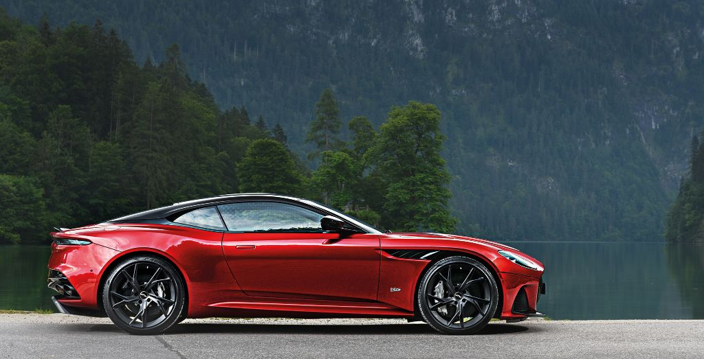 Aston Martin DBS Superleggera Light Fantastic Wheels - Aston martin troy