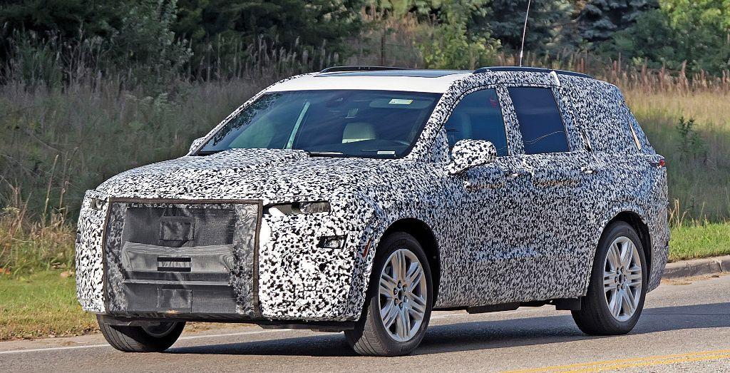 2020 Cadillac Xt6 Spied Wheels