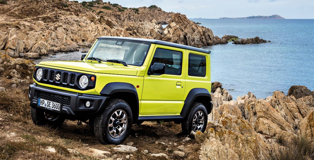 2019 suzuki jimny review back in style wheels. Black Bedroom Furniture Sets. Home Design Ideas