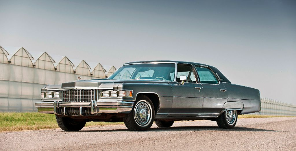 1976 cadillac fleetwood sixty special brougham - wheels