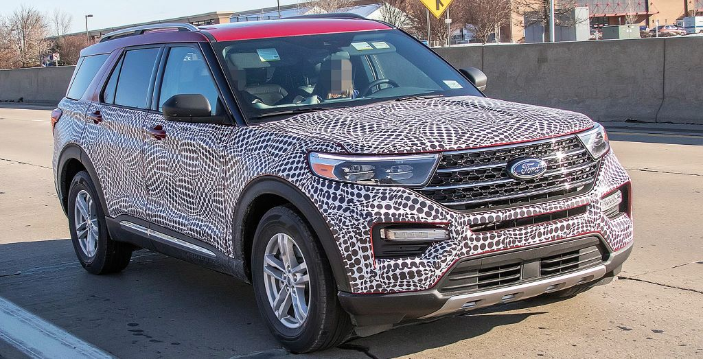 2020 Ford Explorer Spied Wheels