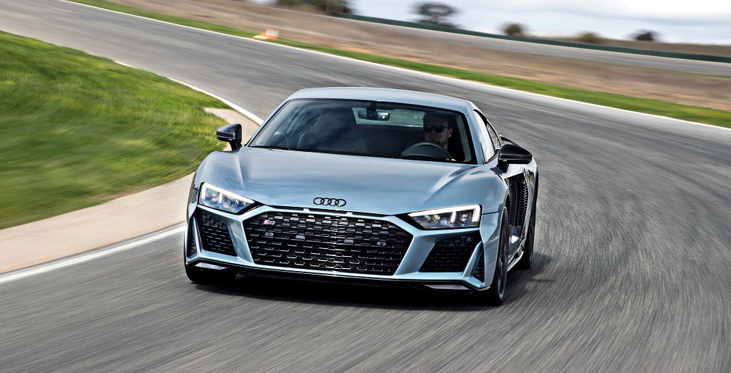 2019 Audi R8 V10 Naturally Aspirated Anomaly Wheels