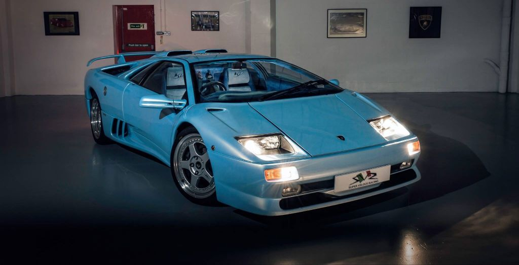 Unique Lamborghini Diablo Sv Up For Sale Wheels