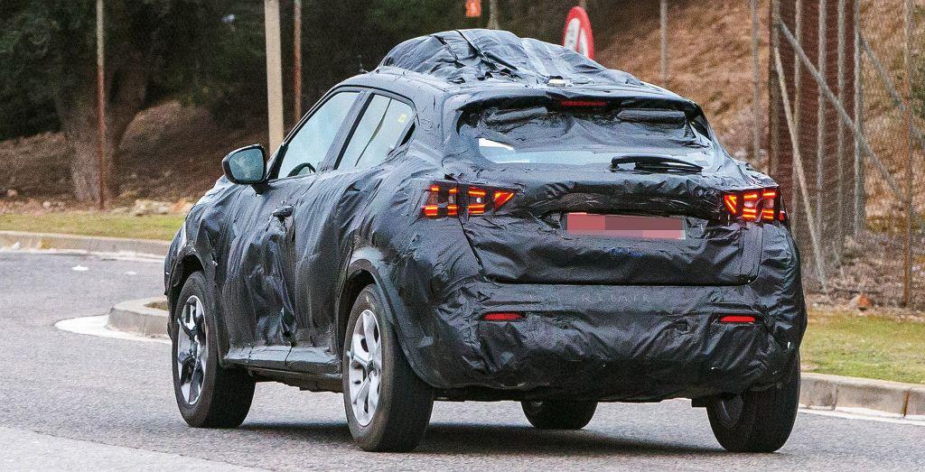 2020 Nissan Juke Spied Wheels