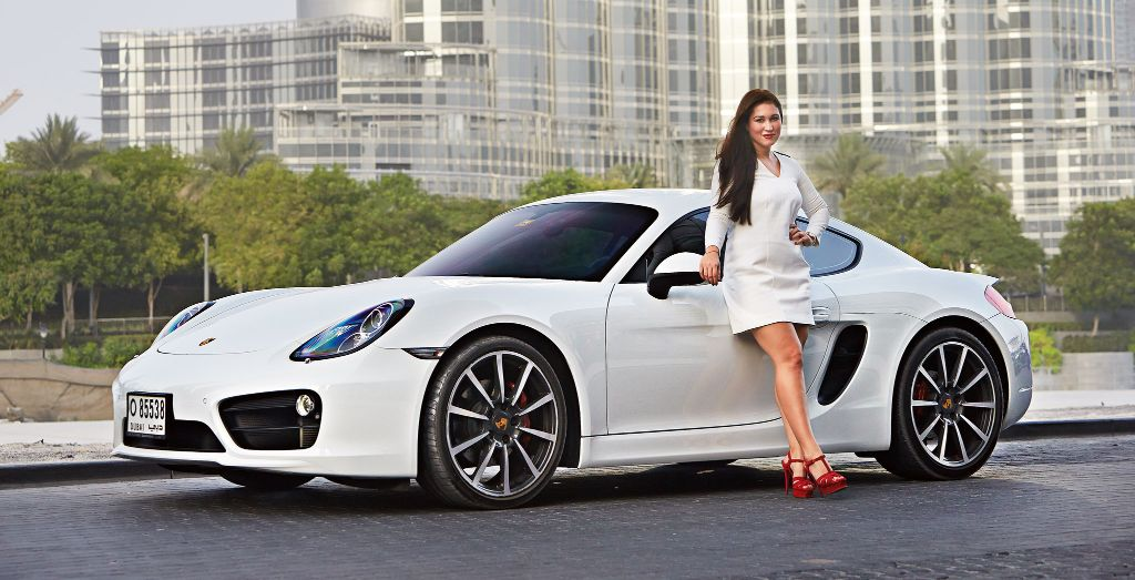 Louise Sara S 2013 Porsche Cayman S Wheels