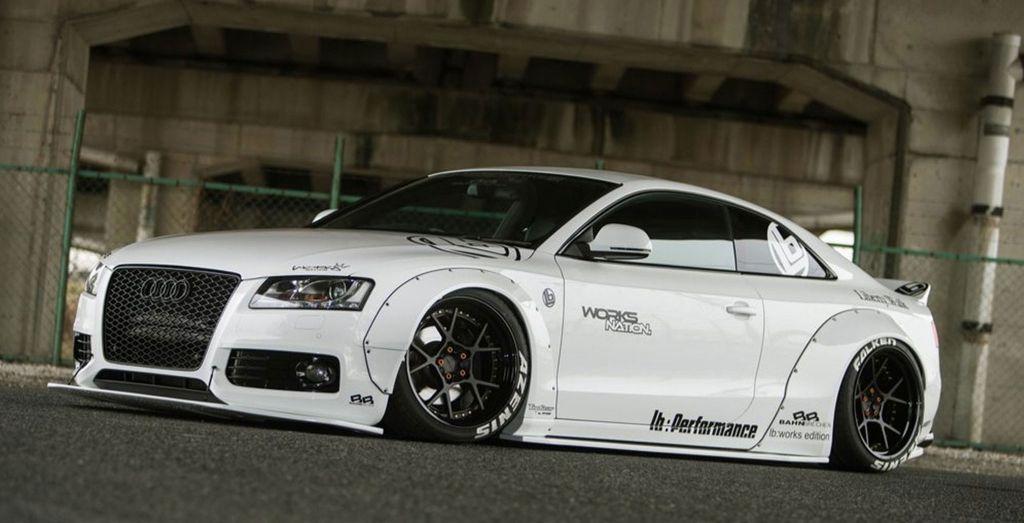 Liberty Walk Audi AS Wheels - Audi custom