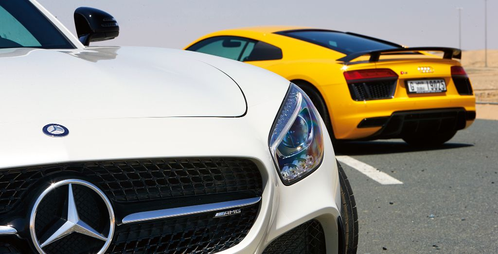 Mercedes Amg Gt S Vs Audi R8 V10 Plus Wheels