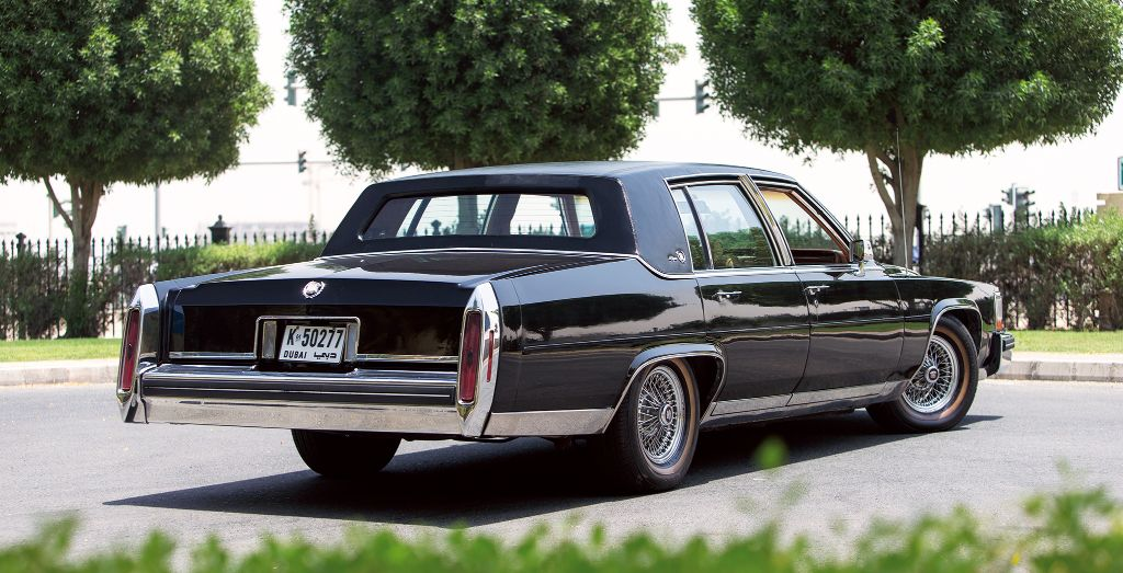 Mimiliano Bibbò's 1984 Cadillac Fleetwood Brougham d'Elegance ...
